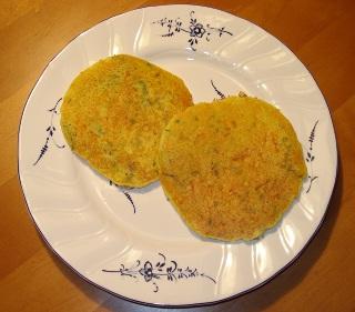 Karotten-Zucchini-Pfannkuchen
