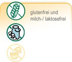 Teaser Backmischungen - gluten- & milch-/ laktosefrei