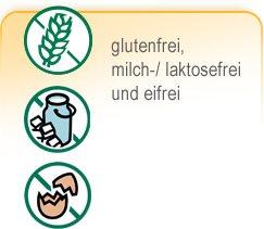 Teaser Backmischungen - gluten-, milch-/ laktose- & eifrei