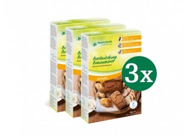 Backmischung Bananenbrot, Set: 3 x 400 g