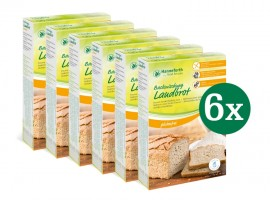 Backmischung Landbrot, Set: 6 x 400g
