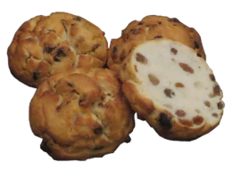 Rosinenbrötchen, 4 x 80 g