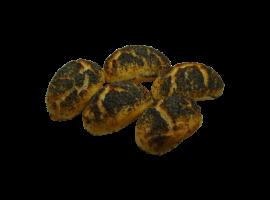 glutenfreie Mohnbrötchen