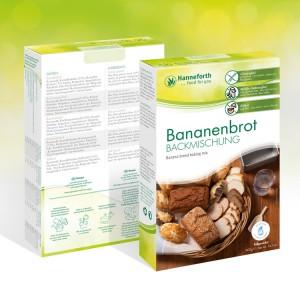 Backmischung Bananenbrot, 400g