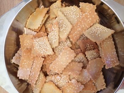 Sesam-Kräcker