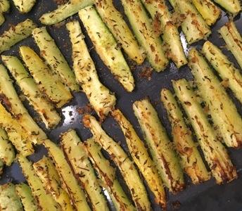 Zucchini-Käse Sticks
